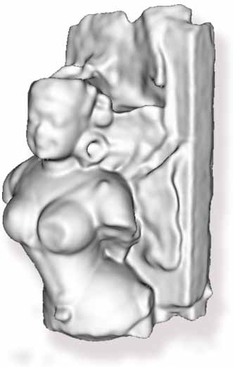 femal bust 7 century